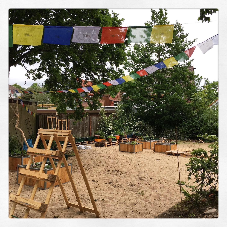 Bunte Beete Celle öko Sozialer Gemeinschaftsgarten In Einer